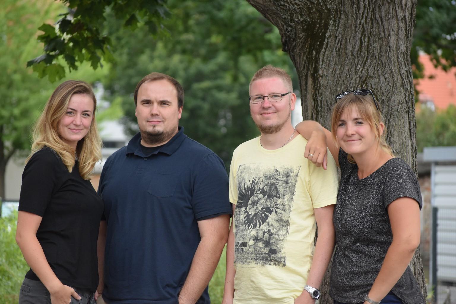 Gruppenfreie Erzieherinnen und Erzieher - Frau Hiller, Herr Heerlein, Herr Pelz, Frau Balthasar