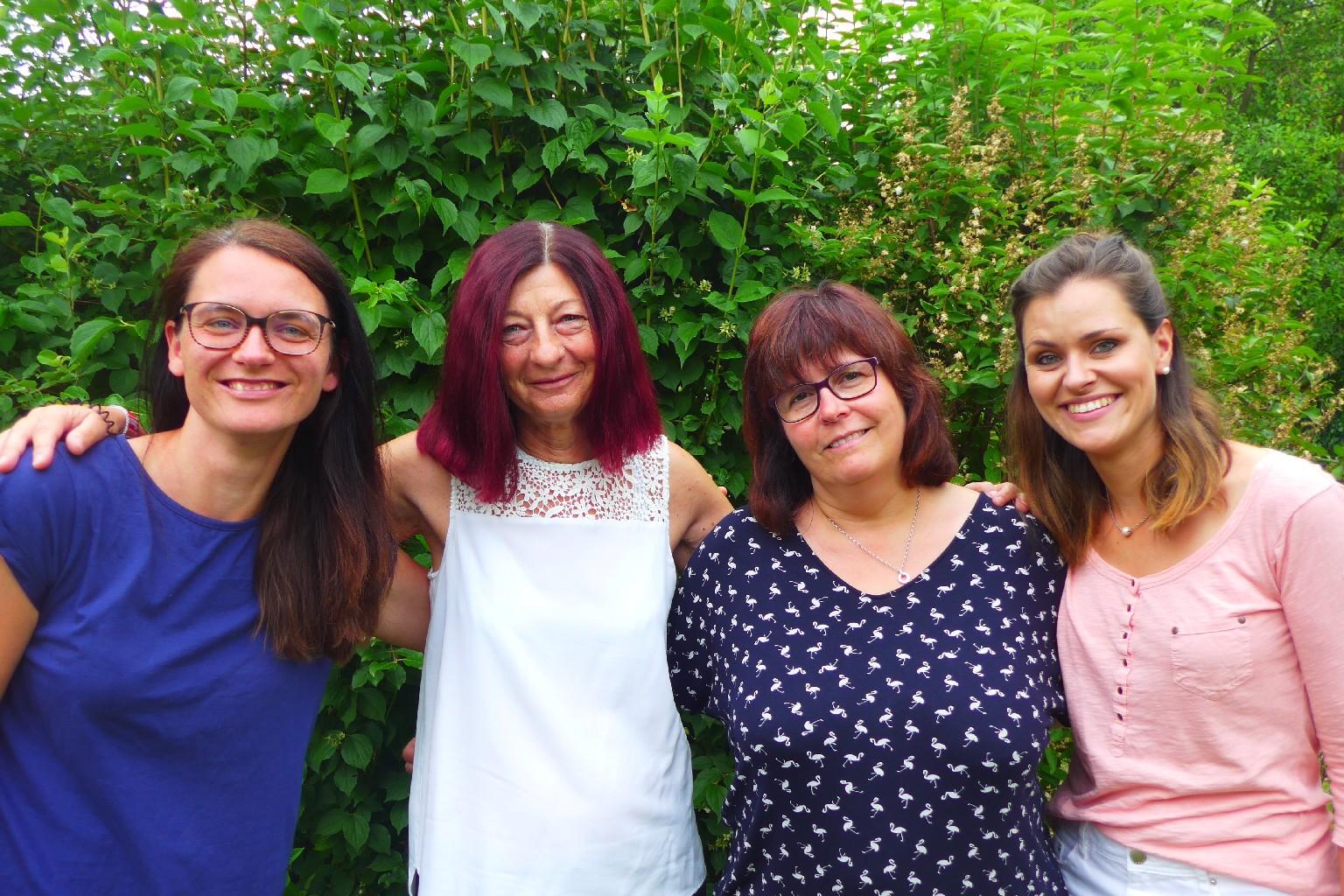 Erzieherinnen der 3. Klassen - Frau Küster, Frau Bühring, Frau Zwetkoff, Frau Müller